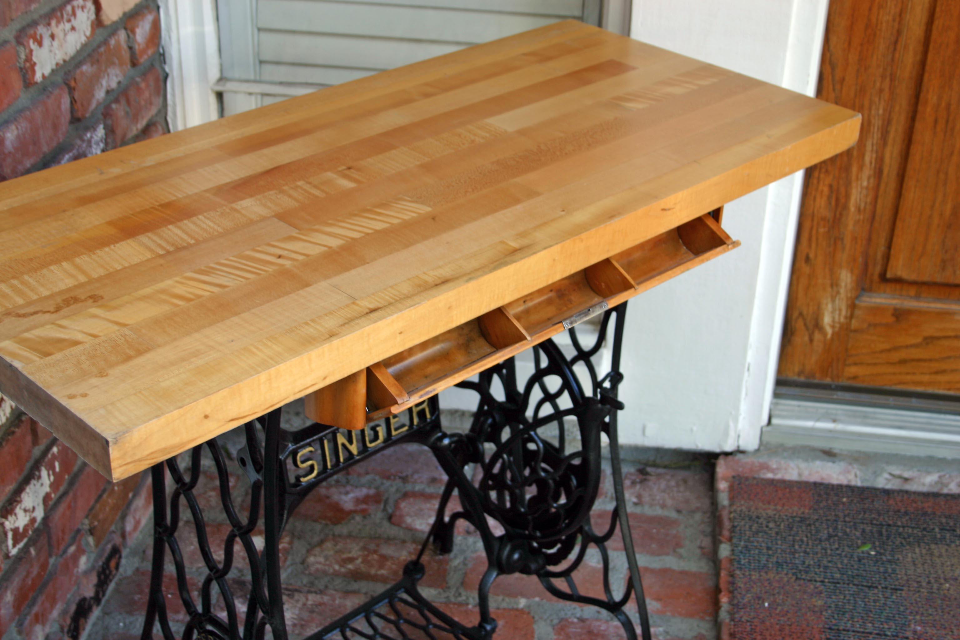 Relatively 1880's Singer Table UG71